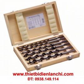 Bộ mũi khoan gỗ Auger 6 cây Bosch 2607019322 (10-20mm)