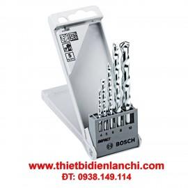 Bộ 5 mũi khoan tường BOSCH 2608590090
