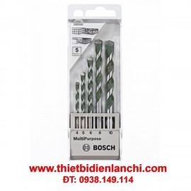 Bộ mũi khoan bê tông 5 chi tiết Bosch 2608680798