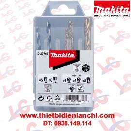 Bộ 5 mũi khoan Makita D-20769
