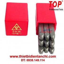 Bộ đóng số 9 cây 5mm TOP TS115
