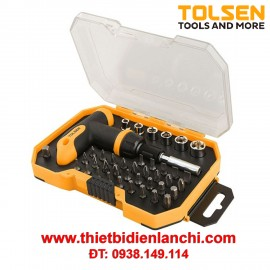 Bộ 41 món vít tuýp Tolsen 20036 (Vàng)