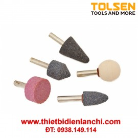 Bộ 5 mũi đá mài Tolsen 77110