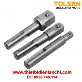 Bộ 3 mũi khoan nối đầu tuýp Tolsen 77865