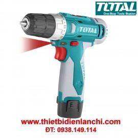 Máy khoan vặn vít dùng pin Li-ion Total TDLI228120 (12V)