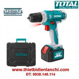 Máy khoan vặn vít dùng pin Li-ion TOTAL TDLI228180