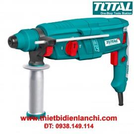 Máy khoan búa xoay 800W TOTAL TH308266 (26mm)